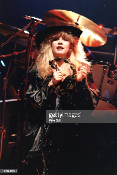 Stevie Nicks of Fleetwood Mac performs on stage at Wembley Arena on May 18th 1988 in London United Kingdom