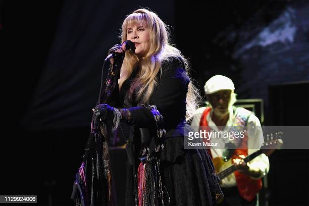 Stevie Nicks of Fleetwood Mac performs onstage during Fleetwood Mac In Concert at Madison Square Garden on March 11 2019 in New York City