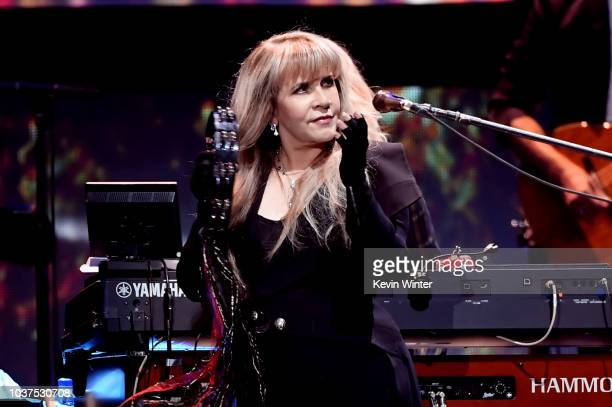 Stevie Nicks of Fleetwood Mac performs onstage during the 2018 iHeartRadio Music Festival at T-Mobile Arena on September 21, 2018 in Las Vegas,...