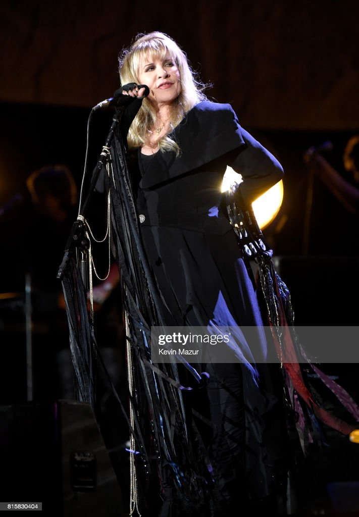 Stevie Nicks of Fleetwood Mac performs onstage during The Classic West at Dodger Stadium on July 16, 2017 in Los Angeles, California.