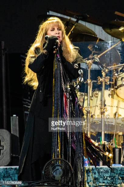 Stevie Nicks of the english-american rock band Fleetwood Mac performing live at Pinkpop Festival 2019 in Netherlands