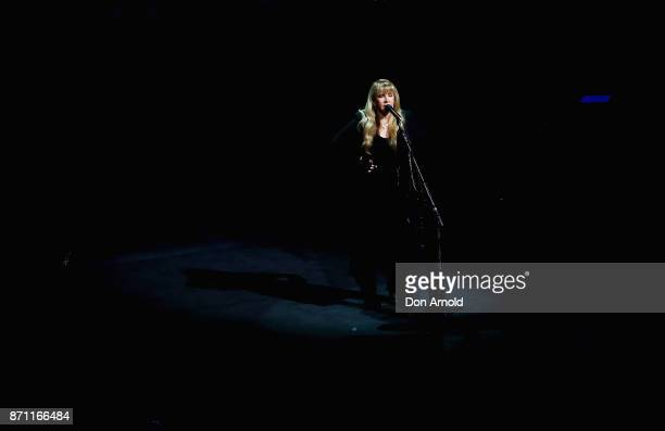 Stevie Nicks performs at ICC Sydney Theatre on November 7 2017 in Sydney Australia