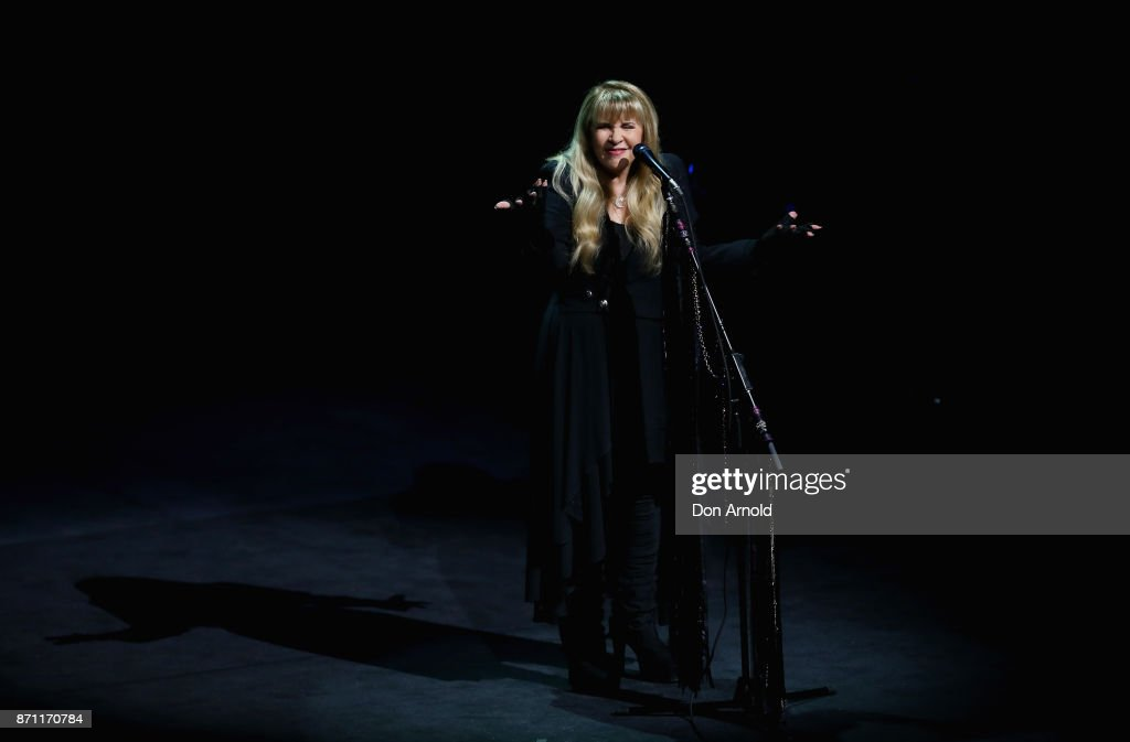 Stevie Nicks performs at ICC Sydney Theatre on November 7, 2017 in Sydney, Australia.