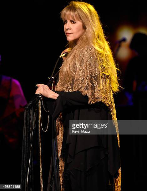 Stevie Nicks performs at Madison Square Garden on October 7 2014 in New York City