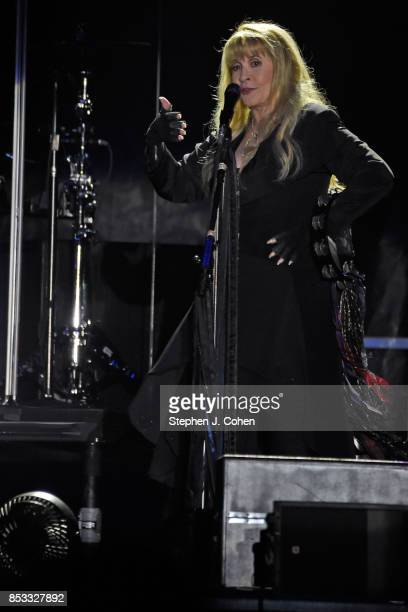 Stevie Nicks performs at the inaugural Bourbon Beyond Festival at Champions Park on September 24 2017 in Louisville Kentucky