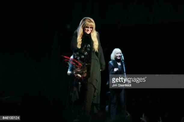 Stevie Nicks performs at the Minnesota State Fair in St Paul Minnesota on August 25 2017