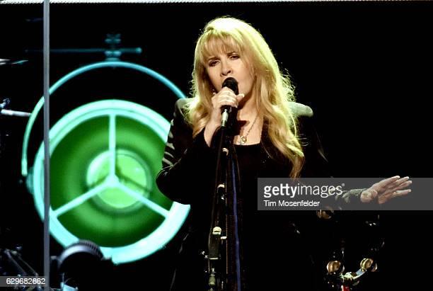 Stevie Nicks performs during her '24 Karat Gold Tour' at Golden 1 Center on December 13 2016 in Sacramento California