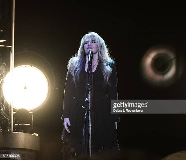 Stevie Nicks performs live in concert at Madison Square Garden on December 1 2016 in New York City