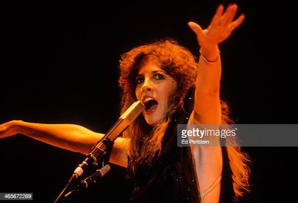 Stevie Nicks performs with Fleetwood Mac at the Cow Palace in December 1979 in San Francisco, California.