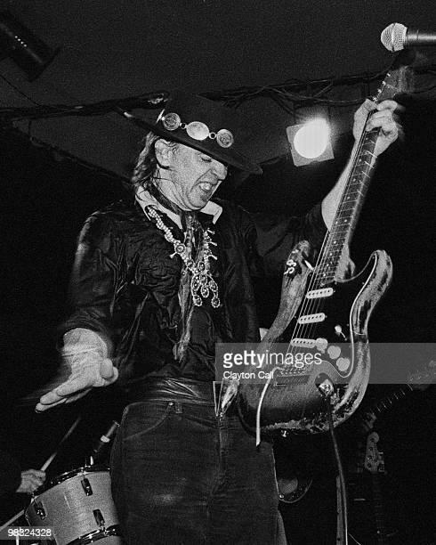 Stevie Ray Vaughan performing at the Keystone Berkeley on August 19 1983