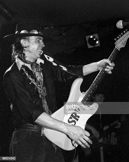 Stevie Ray Vaughan performing at the Keystone Berkeley on August 19, 1983.