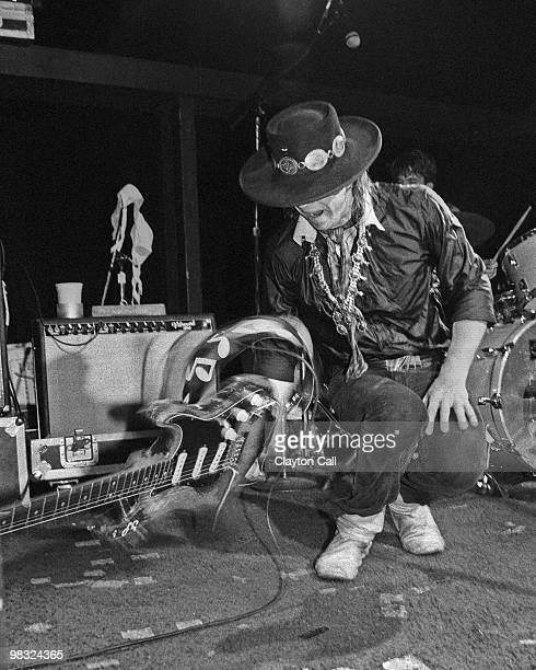 Stevie Ray Vaughan performing at the Keystone Berkeley on August 19 1983