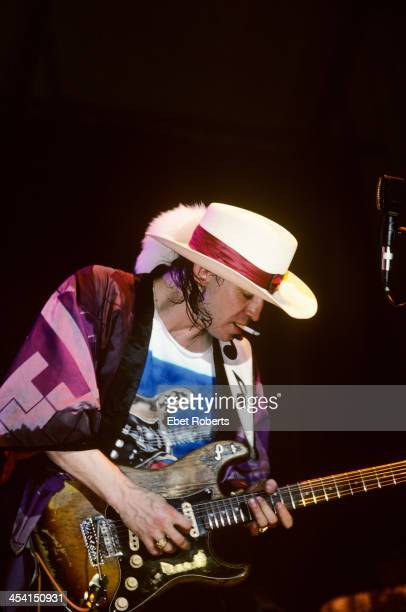 Stevie Ray Vaughan performing at the Pier in New York City on August 10 1985