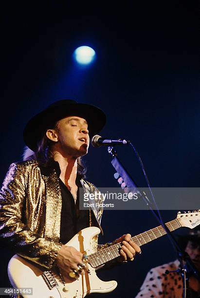 Stevie Ray Vaughan performing in Memphis Tennessee on August 26 1986