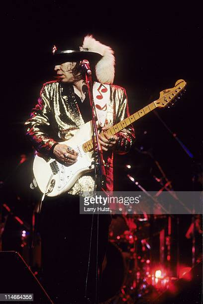 Stevie Ray Vaughan performs at the Concord Pavilion in Concord California on October 9 1988
