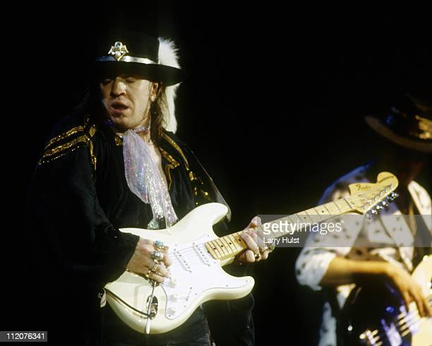 Stevie Ray Vaughan performs at the Concord Pavilion in Concord California on May 24 1987