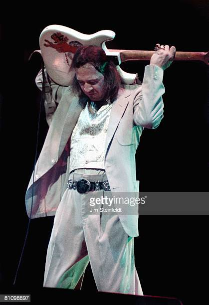 Stevie Ray Vaughan performs at the Orpheum Theatre in Minneapolis Minnesota on December 13 1985