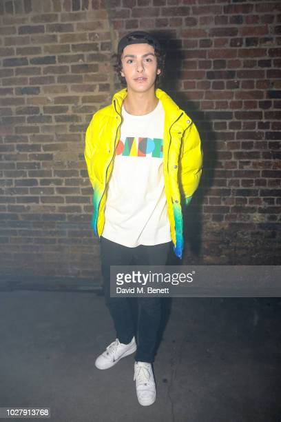 Stevie Ruffs attends the Axel Arigato launch at Village Underground on September 6 2018 in London England