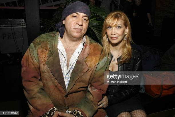 Stevie Van Zandt and wife Maureen Van Zandt **EXCLUSIVE COVERAGE**