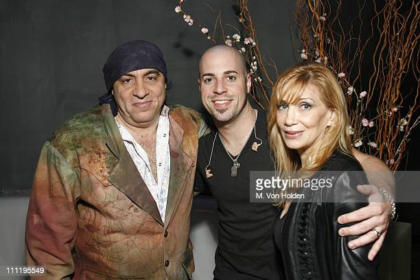 Stevie Van Zandt Chris Daughtry and Maureen Van Zandt **EXCLUSIVE COVERAGE**