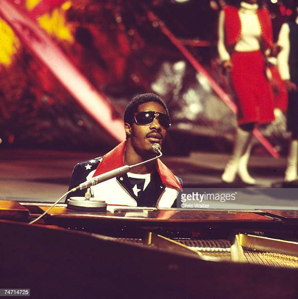 Stevie Wonder 1971 on Top Of The Pops at the Music File Photos 1970's in London United Kingdom