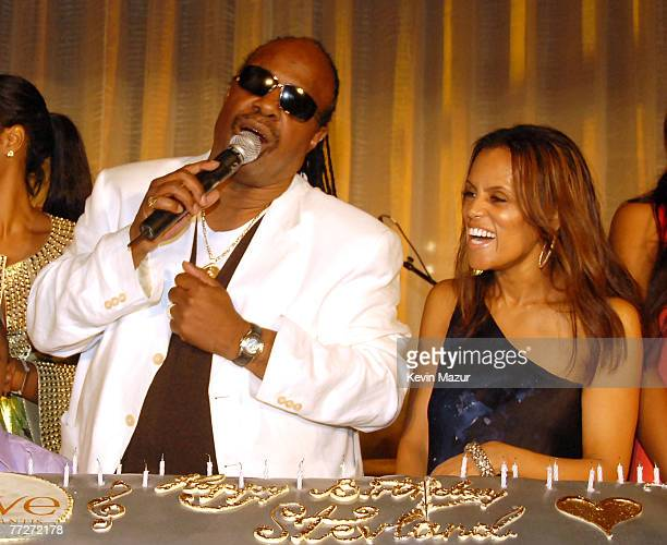 Stevie Wonder and Kai MillaMorris Stevie Wonder joined resort magnate Sol Kerzner and hundreds of guests to celebrate his 57th birthday with...