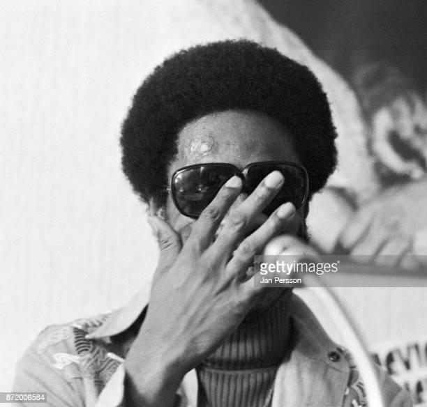 Stevie Wonder at MIDEM Cannes France January 1974