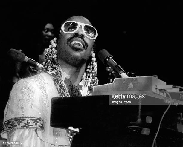1970s: Stevie Wonder circa 1970s.