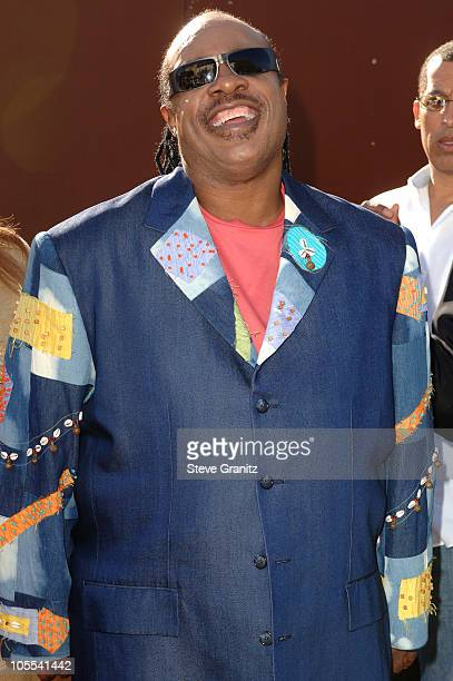 Stevie Wonder during 10th Annual Soul Train Lady of Soul Awards Arrivals at Pasadena Civic Auditorium in Pasadena California United States