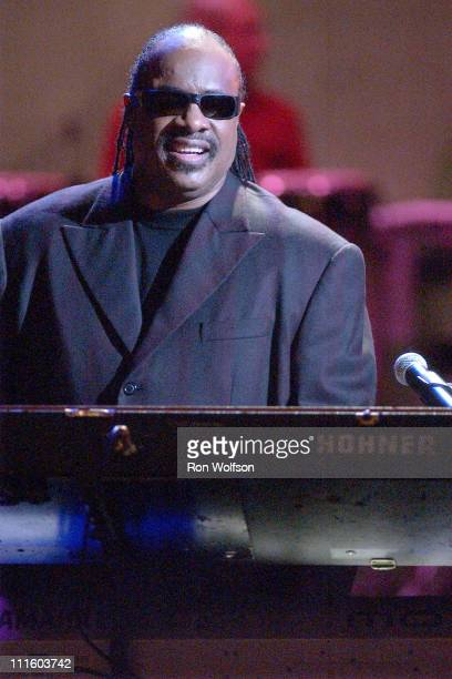 """Stevie Wonder during Taping of the Jamie Foxx TV Special """"Unpredictable"""" - January 20, 2006 at Orpheum Theatre in Los Angeles, California, United..."""