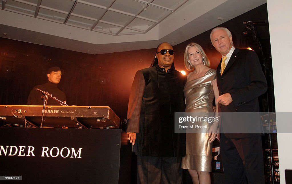 573223f0d4d82 Stevie Wonder Performs At Launch Of  The Wonder Room    News Photo
