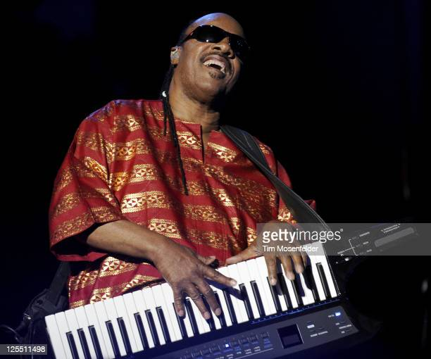 Stevie Wonder performs as part of the Austin City Limits Music Festival Day Two at Zilker Park on September 17, 2011 in Austin Texas.