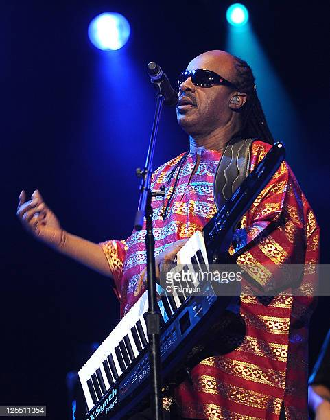 Stevie Wonder performs during day 2 of the 2011 Austin City Limits Music Festival at Zilker Park on September 17, 2011 in Austin, Texas.
