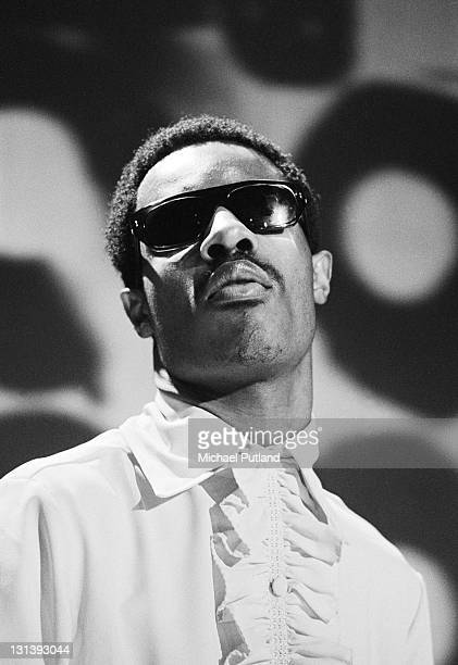 Stevie Wonder performs on BBC TV show Top of the Pops, 6th March 1969.