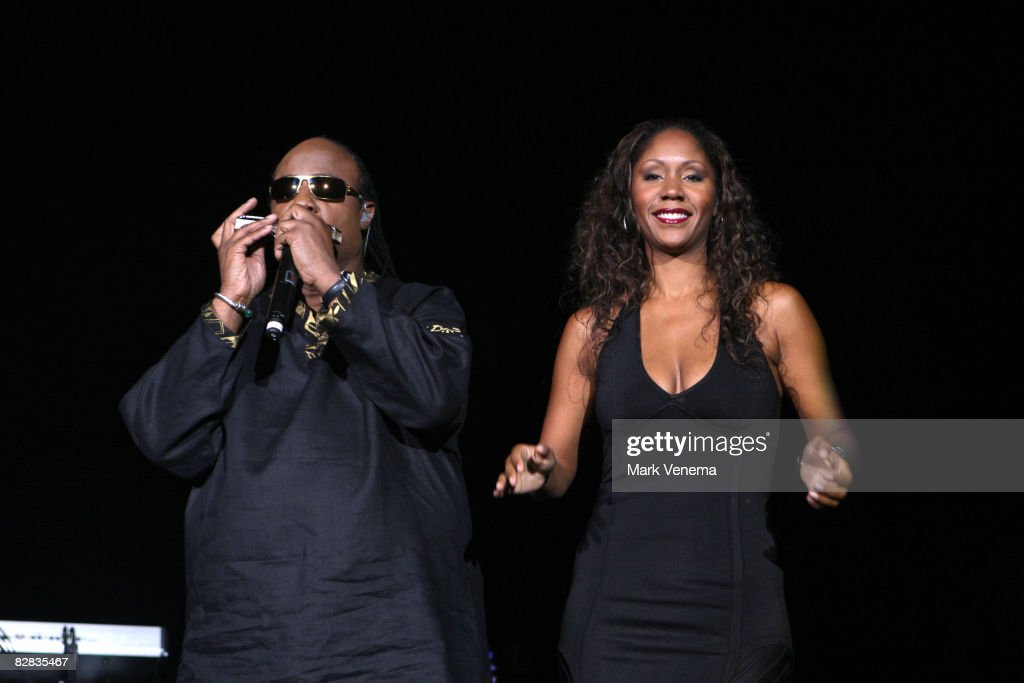 Stevie WonderPerforms In Rotterdam