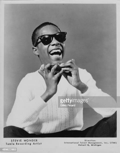 Stevie Wonder portrait USA 1964