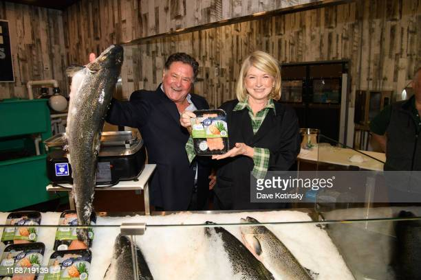 Stew Leonard and Martha Stewart attend the Homecoming Tribute At $400M Iconic Stew Leonard's Opening on September 16 2019 in Paramus New Jersey