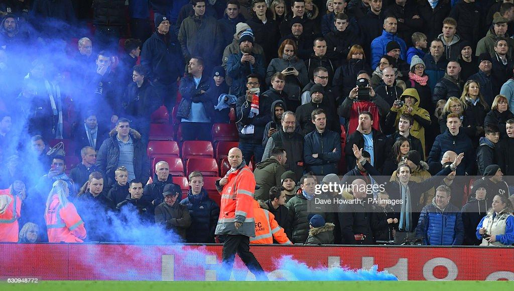 Liverpool v Manchester City - Premier League - Anfield : News Photo