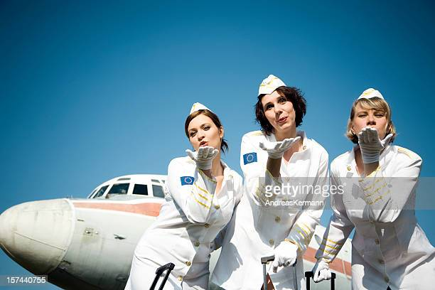 Stewardesses - come and fly with us