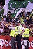 Notts Aus v Pakistan cricket Security