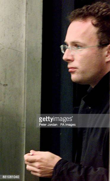 Stewart Armer of Battledean Road Highbury North London a unit trust fund manger with investment bank Morgan Grenfell leaving Kingston Crown Court in...