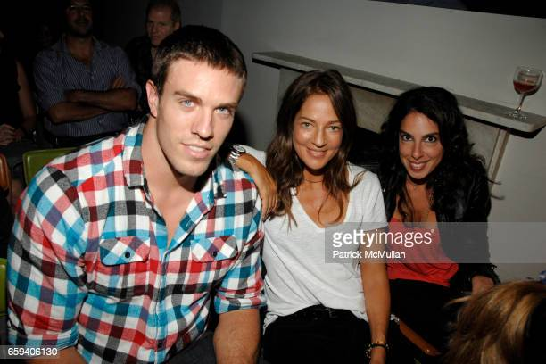 Stewart Bradley Kelly Klein and Jen Regan attend Screening of THE COVE Hosted by Fisher Stevens and Russell Simmons at Norwood on September 9 2009 in...