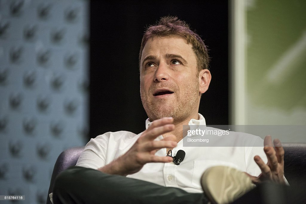 Stewart Butterfield, co-founder and chief executive officer of Slack Technologies Inc., speaks during the South By Southwest (SXSW) Interactive Festival at the Austin Convention Center in Austin, Texas, U.S., on Tuesday, March 15, 2016. The SXSW Interactive Festival features presentations and panels from the brightest minds in emerging technology, scores of networking events hosted by industry leaders and a lineup of special programs showcasing new websites, video games, and startup ideas. Photographer: David Paul Morris/Bloomberg via Getty Images