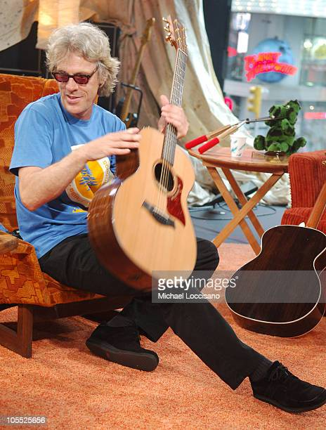 """Stewart Copeland of The Police during Foo Fighters Take Over MTV2 - """"24 Hours of Foo"""" - June 11, 2005 at MTV Building in New York City, New York,..."""
