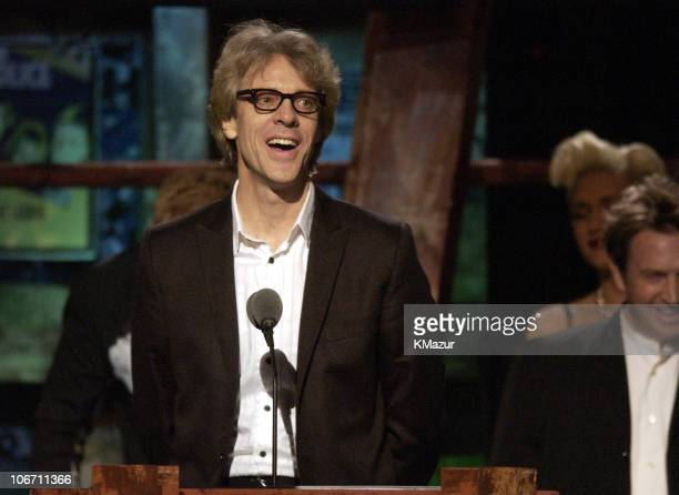 Stewart Copeland of The Police during The 18th Annual Rock and Roll Hall of Fame Induction Ceremony Show at The Waldorf Astoria in New York City New...
