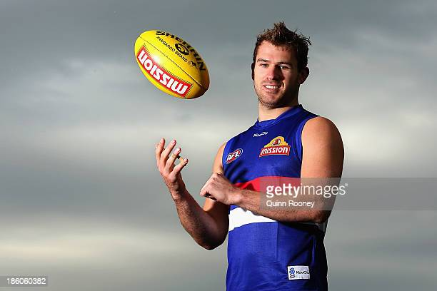 Stewart Crameri of the Bulldogs poses during a Western Bulldogs AFL media session at Whitten Oval on October 28, 2013 in Melbourne, Australia.