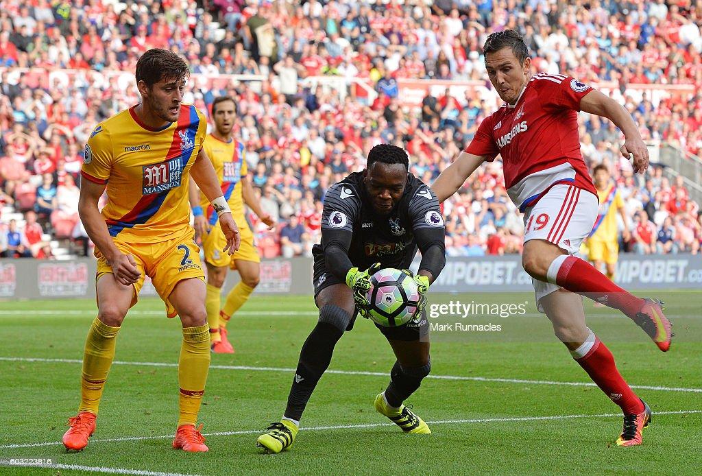 Middlesbrough v Crystal Palace - Premier League : News Photo