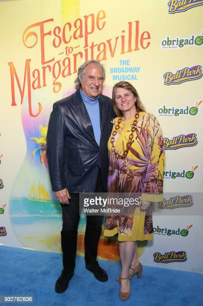 Stewart F Lane and Bonnie Comley attend the Broadway Opening Night After Party for 'Escape To Margaritaville' at Pier Sixty on March 15 2018 in New...