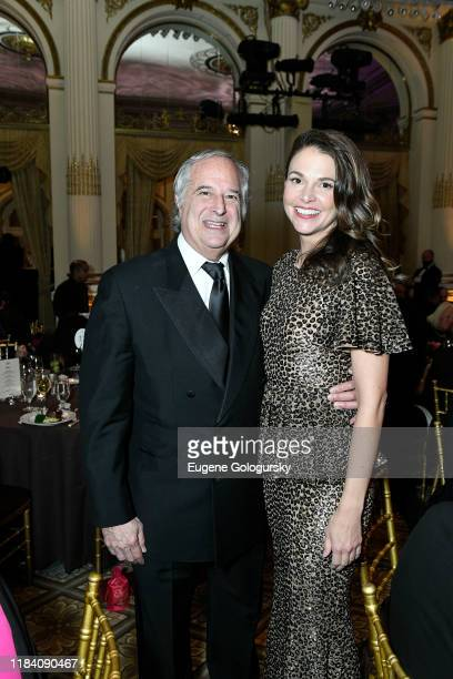 Stewart F. Lane and Sutton Foster attend the The 36th Annual Drama League Benefit Gala at The Plaza Hotel on October 28, 2019 in New York City.