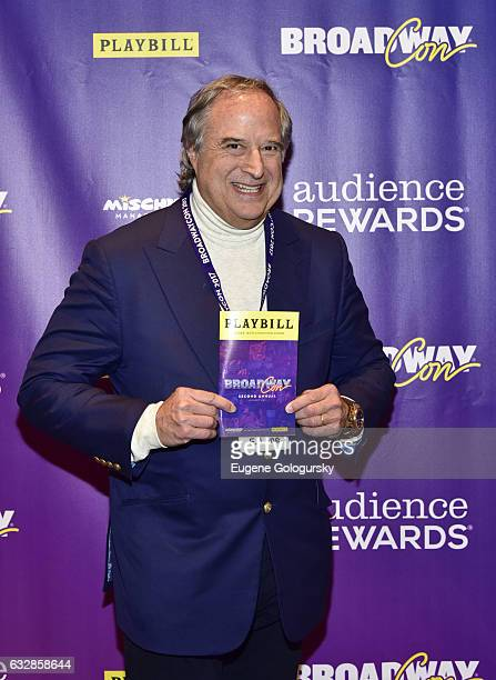 Stewart F. Lane attends BroadwayCon 2017 at The Jacob K. Javits Convention Center on January 27, 2017 in New York City.